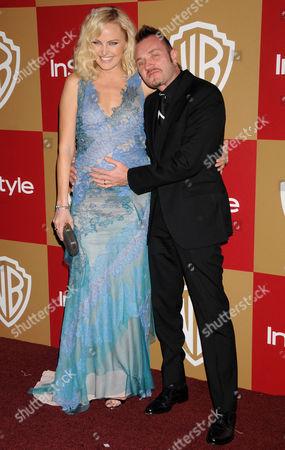 Malin Akerman and husband Roberto Zincone