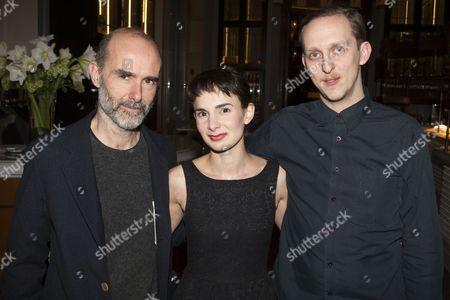 Finbar Lynch (The Uncle), Simona Bitmate (The Niece) and Leo Bill (Werner von Ebrennac)