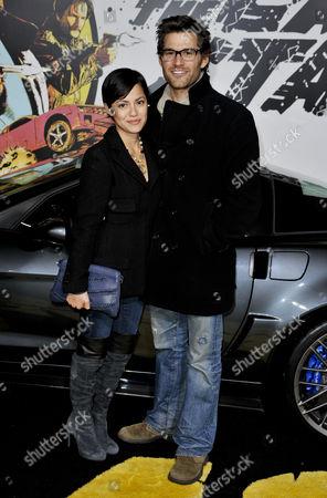 Stock Photo of Johnny Whitworth and Sylvia Brindis