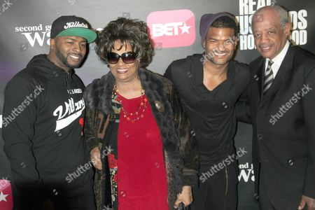 Stock Photo of Craig Wayans and Damien Wayans with Guests
