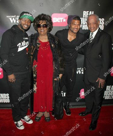 Editorial photo of 'Real Husbands of Hollywood' And 'Second Generation Wayans', TV Premiere, New York, America - 14 Jan 2013