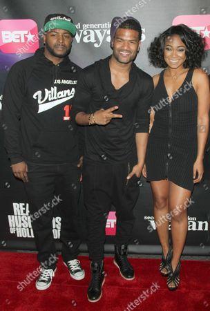 Stock Picture of Craig Wayans, Damien Wayans and Tatyana Ali