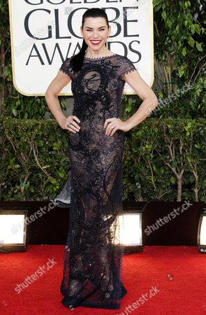 Editorial picture of 70th Annual Golden Globe Awards, Arrivals, Los Angeles, America - 13 Jan 2013