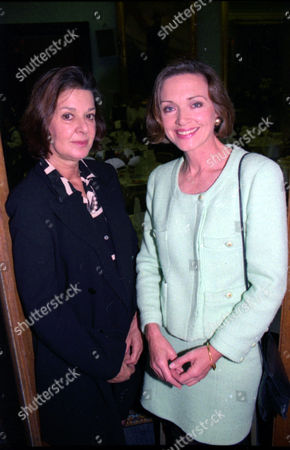 L-r: Verity Lambert Television Producer (died November 2007) And Anna Ford.