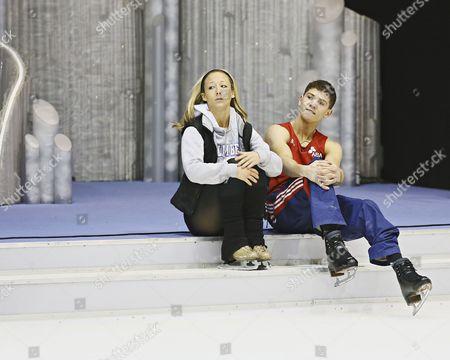 Editorial image of 'Dancing on Ice' Training, TV Programme, London, Britain - 14 Jan 2013
