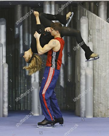 Stock Picture of Luke Campbell and Jenna Smith