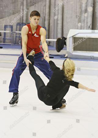 Editorial photo of 'Dancing on Ice' Training, TV Programme, London, Britain - 14 Jan 2013