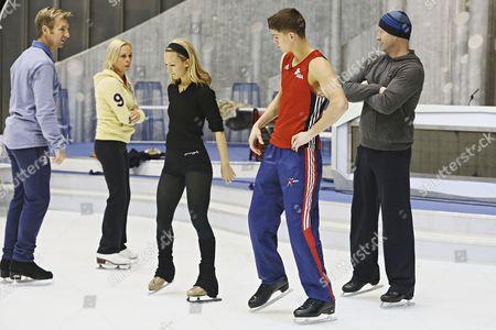 Christopher Dean, Jayne Torvill, Jenna Smith and Luke Campbell