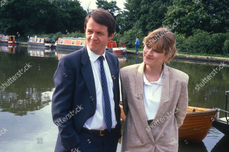 Kevin Whately as Detective Sergeant Lewis and Amanda Hillwood as pathologist Dr Grayling Russell