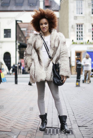 Editorial photo of Street style, London, Britain - 15 Jan 2013