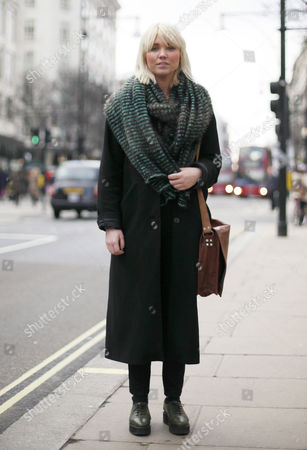Editorial picture of Street style, London, Britain - 15 Jan 2013