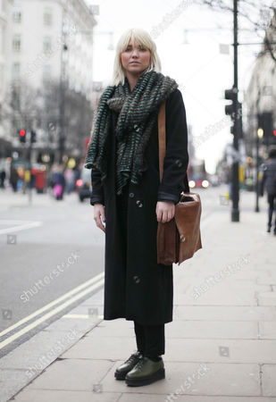Editorial image of Street style, London, Britain - 15 Jan 2013