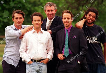 Businessmen Models. Left To Right: Rupert Beven Henry Brocklehurst James Mullen (tall) William Cawley Marc Hare.