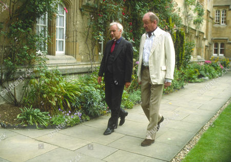 John Thaw as Chief Inspector Morse and Frederick Treves as Dean of Lonsdale College