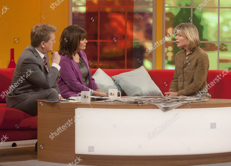 Aled Jones and Lorraine Kelly with Amanda Ursell