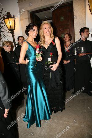 Catarina Furtado and Fernanda Serrano