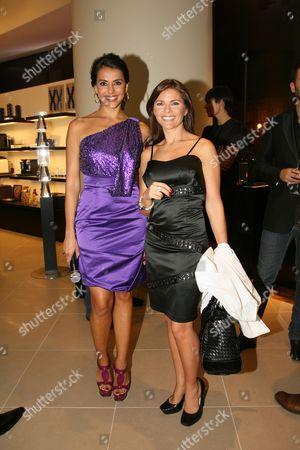 Catarina Furtado and Sonia Araujo