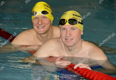 Tim Lovejoy and Duncan Goodhew