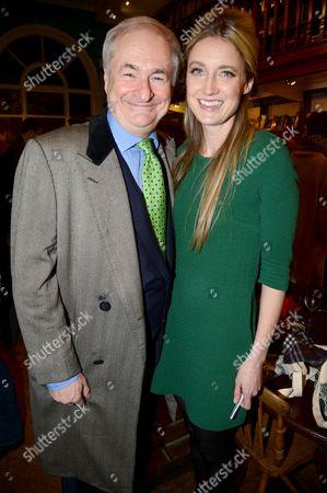 Paul Gambaccini and Eva Rice