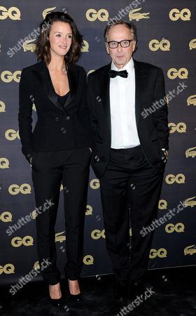 Charlotte Lebon and Fabrice Luchini