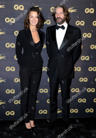 Stock Photo of Charlotte Lebon and Frederic Beigbeder