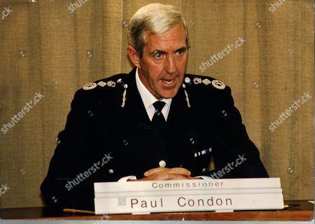 Scotland Yard's Commissioner Sir Paul Condon Now Lord (paul) Condon Of Langton Green Life Peer/june2001 (1994).