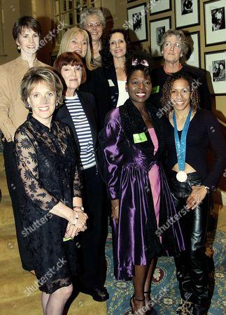 Women Of The Year: (not L To R) Helen Lederer And Esther Rantzen Mary Quant Kelly Holmes Jenny Pitman Diane Keen Floella Benjamin Germaine Greer. In June 2010 Floella Benjamin Became Baroness Benjamin Of Beckenham.