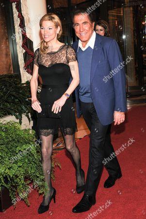 Stock Photo of Andrea Wynn and Steve Wynn