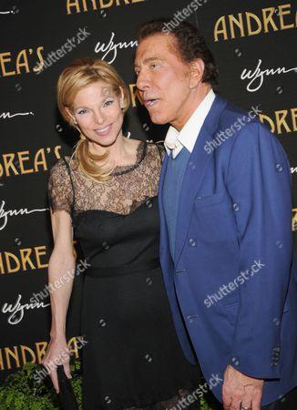 Stock Image of Andrea Wynn and Steve Wynn