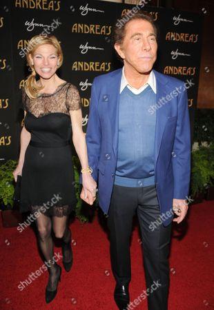 Andrea Wynn and Steve Wynn