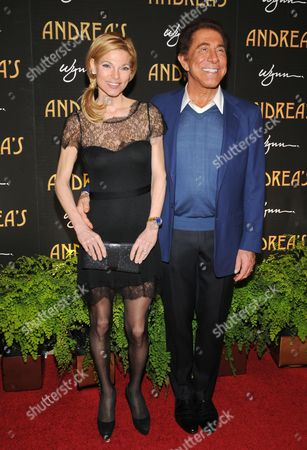 Stock Picture of Andrea Wynn and Steve Wynn