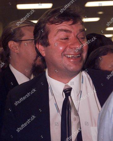 Labour Party Conference Blackpool - Picture Shows : Chancellor Gordon Brown's Press Secretary Charlie Whelan.