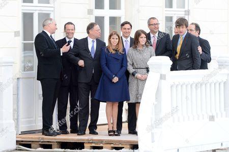 Editorial image of Royal visit to Hanover, Germany - 18 Jan 2013