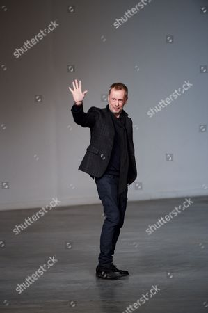 Editorial photo of John Galliano Winter 2013 / 2014 Fashion Show, Mens Fashion Week, Paris, France - 18 Jan 2013