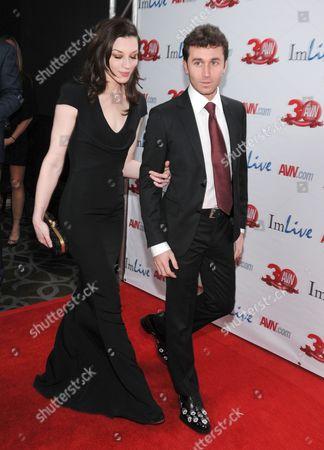 Stoya and James Deen