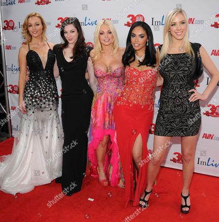 Kayden Kross, Stoya, Jesse Jane, Selena Rose, Bibi Jones