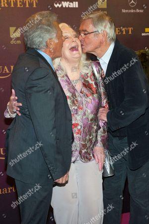 Dustin Hoffman, Dame Gwyneth Jones, Tom Courtenay