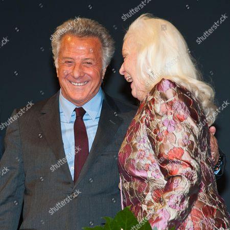 Dustin Hoffman, Dame Gwyneth Jones