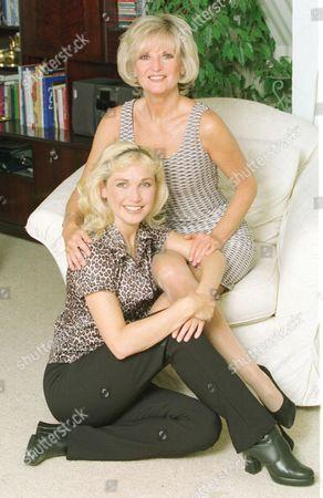 Stock Image of Singer Lynn Paul And Sister Nikki Belsher.