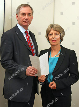 Rebel Labour Mp's Geoff Hoon And Patricia Hewitt At Portcullis House. Their Letter To Fellow Labour Mp's Failed To Oust Prime Minister Gordon Brown.