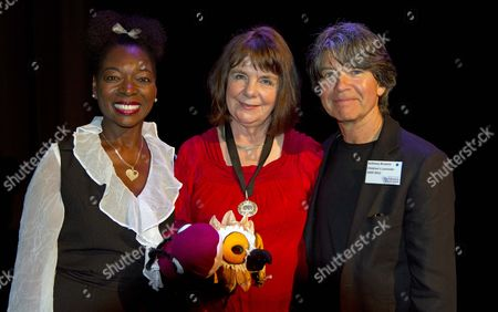 Children's Laureate Announced As Julia Donaldson Also In The Picture Anthony Browne And Floella Benjamin.