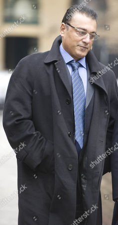 Ali Dizaei Arrives At Southwark Crown Court. 9.2.12
