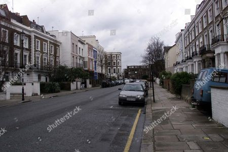 Stock Image of 113 Ledbury Rd Notting Hill W11; General View... Carole Latimer Celebrity Photographer Lives Here Her Home Is Worth More Than A1m. House.