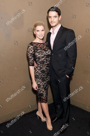 Lucy Van Gasse and Jonathan Bisset