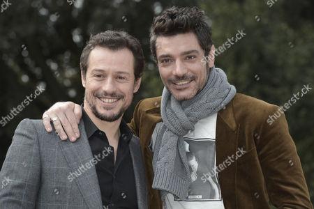 Stefano Accorsi and Giuseppe Zeno