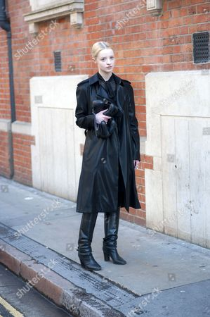 Editorial picture of Street style, London, Britain - Jan 2013