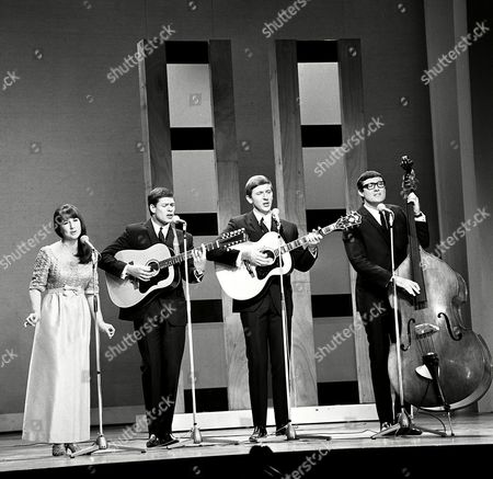 The Seekers - Judith Durham, Keith Potger, Bruce Woodley and Athol Guy
