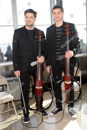 Stock Picture of 2Cellos - Luka Sulic and Stjepan Hauser