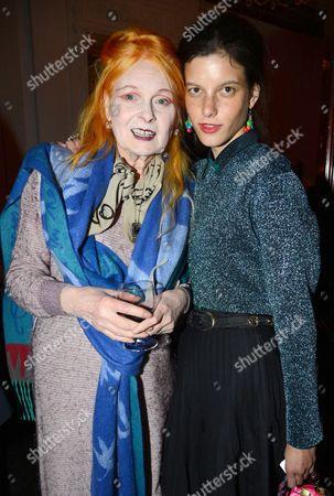 Vivienne Westwood and Tati Cotliar