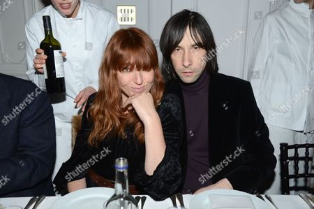 Kim Sion and Bobby Gillespie